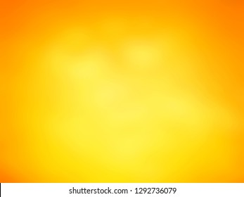Abtract beautiful warm tone color concept of halloween background. Orange and yellow backdrop with copy space. Illustration used for website design or display product