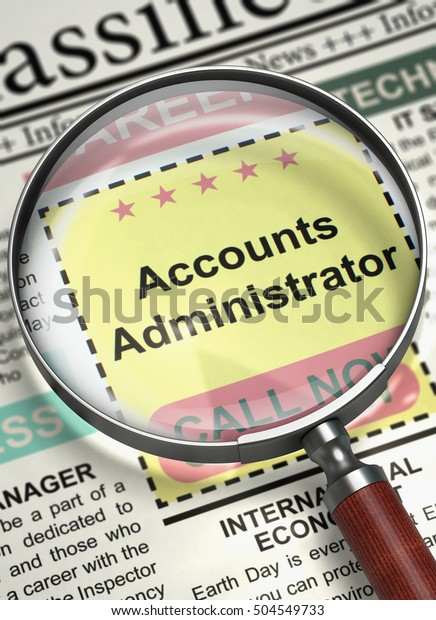 Image result for hiring Account Administrator