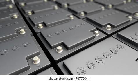 accumulator battery background