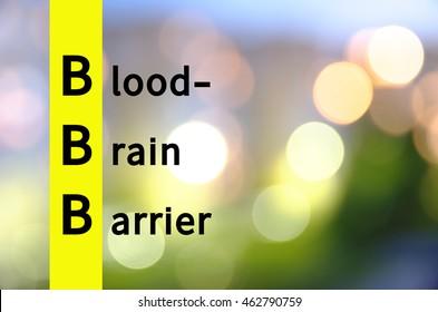 Acronym  as Bloodâ??brain barrier