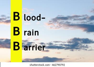 Acronym  as Blood??brain barrier