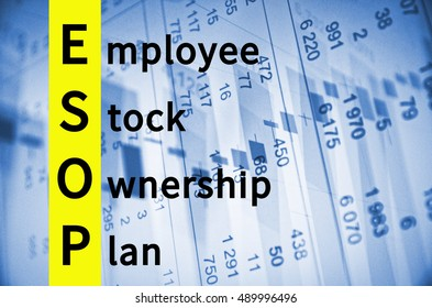Acronym ESOP as Employee stock ownership plan