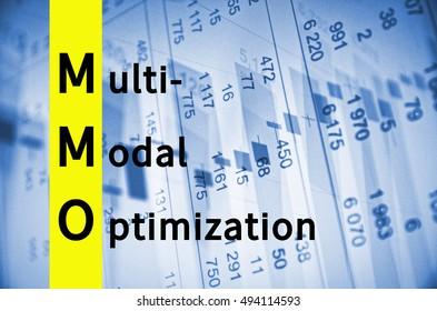 Acronym MMO as Multi-modal optimization
