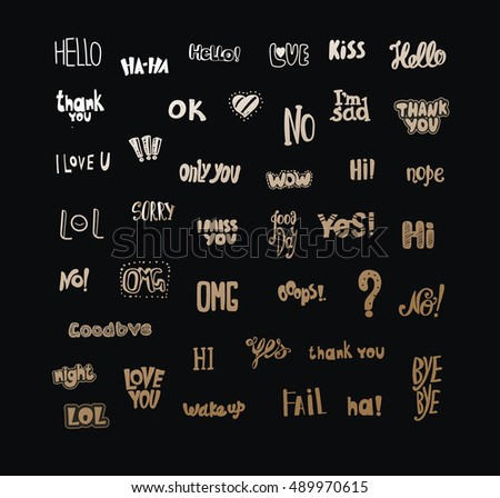 Acronyms Abbreviations Communication Most Commonly Used Stock