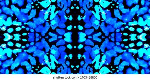 Acrylic Wash Background. Vivid Summer Pattern Animal. Neon Seamless Illustration. Color Animal Print. Colorful Animal Print Floral. Vivid Seamless Illustration.