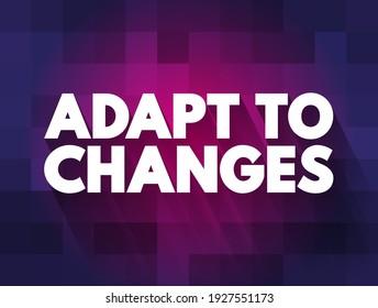 Anpassung an Textquotenänderungen, Concept-Hintergrund