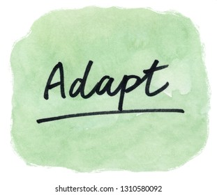 adapt concept word