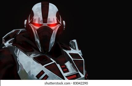 Advanced cyborg future soldier