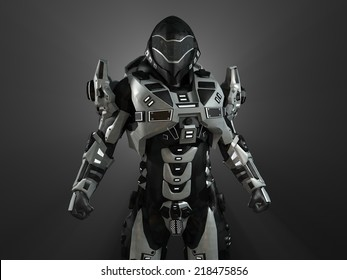 Advanced super soldier