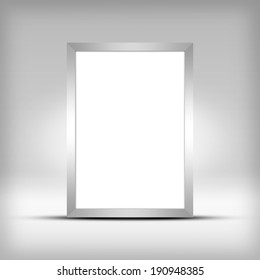 Advertising space. Frame for picture or copy space.