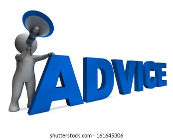 Advice Character Meaning Guiding Councelling Recommending Or Suggest