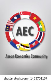 AEC or asean economic community concept