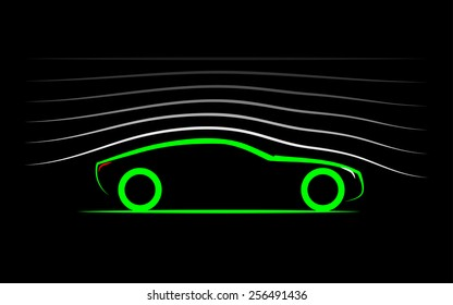 aerodynamics of the car
