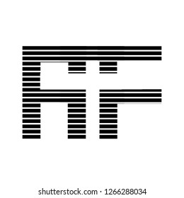 Af letter design logo