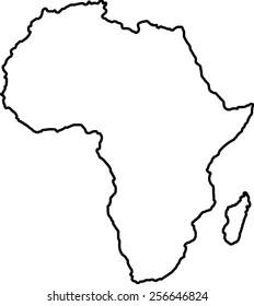 map of africa blank - Parfu.kaptanband.co