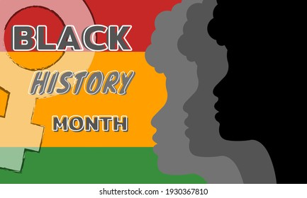 African American History or Black History Month. Celebrated annually in February in the USA and Canada. - Shutterstock ID 1930367810