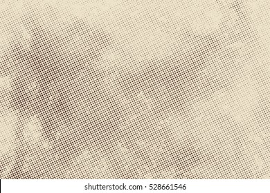 aged newspaper halftone abstract dotted background and texture