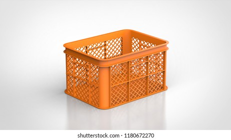 Agricultural container 3d rendering