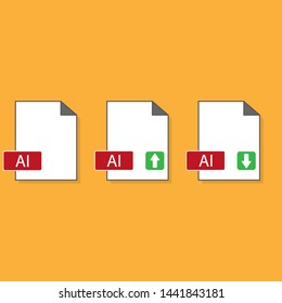 ai file format. graphic illustration extension