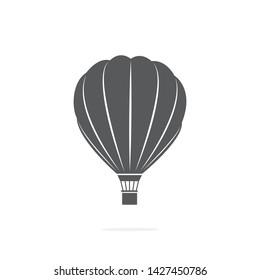 Air Ballon Icon on white background