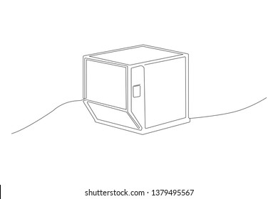 Air Cargo ULD container Box, transportation, international logistics, shipment tool