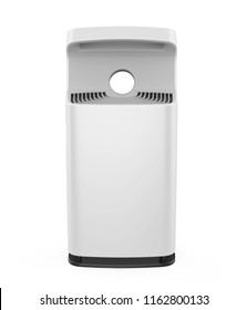 Air Purifier Isolated. 3D rendering