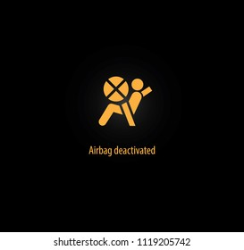 Airbag deactivated background