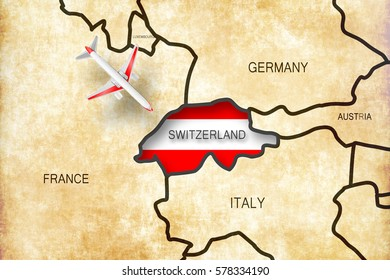 Map Of France Italy Switzerland.France Italy Switzerland Map Images Stock Photos Vectors