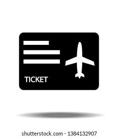 Airplane / Travel Ticket single Icon