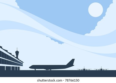 Airport Background