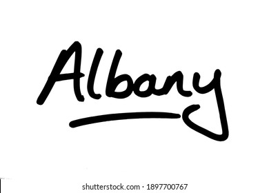 Albany - the capital city of the state of New York in the United States of America.