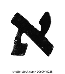 Aleph - Hebrew letter  . Hebrew language. The letter Alef