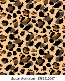 all over leopard pattern illustration