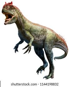 Allosaurus 3D illustration