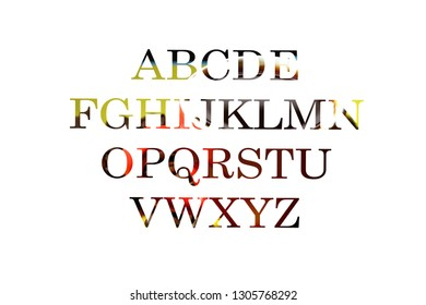 Alphabet background / An alphabet is a standard set of letters that represent the phonemes of any spoken language it is used to write