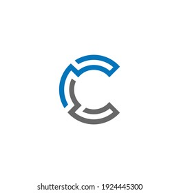 Alphabet C Letter or Words Design For Your Business