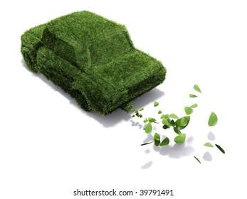 Alternative power concept, green emissions