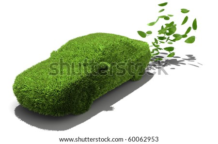 Alternative power concept, green emissions