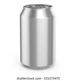 Aluminum can 3d render, ideal for beer, lager, alcohol, soft drinks, soda, fizzy pop, lemonade, cola, energy drink, juice, water etc.