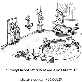 I always hoped retirement would look like this.