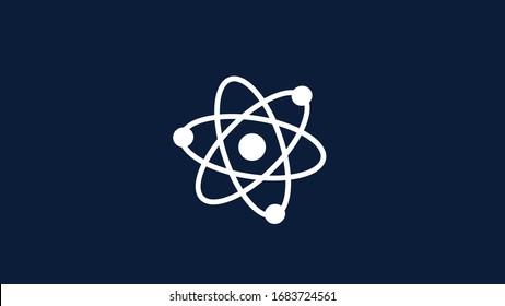 Amazing atom icon,science icon,science design,atom icon