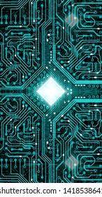 Amazing illustration for electronic circuits