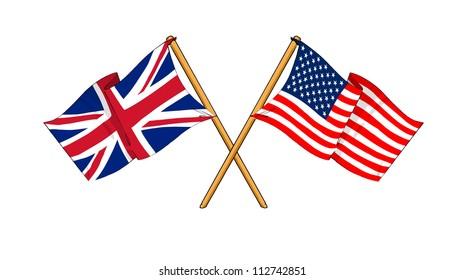 America and United Kingdom alliance and friendship