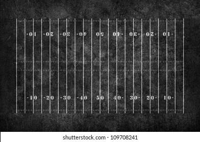 american football field pattern on the dark grunge background