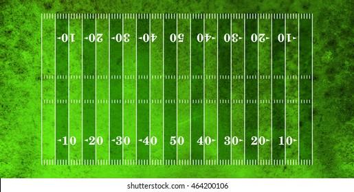American football field textured turf.