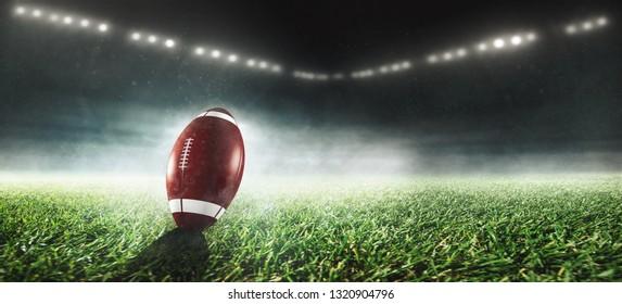 American Football Stadion 3D Rendering