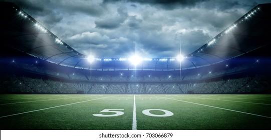 football stadium background images stock photos vectors shutterstock https www shutterstock com image illustration american football stadium 3d rendering 703066879