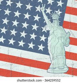 American patriot flag