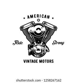 American Vintage motor Ride strong.
