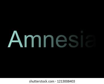 Amnesia design concept